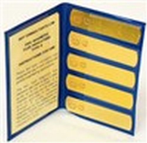 Magnetic Flux Indicator (Burma Castrol) Type I brass