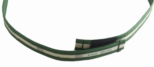 "Lead marker tape for 8"" pipe with velcro"