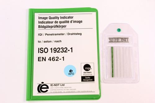 IQI ISO 19232-1 W10 FE - 50mm