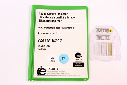ASTM Wire Pene. 1B Steel 25mm