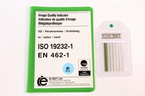 IQI ISO 19232-1 W6 FE - 50mm
