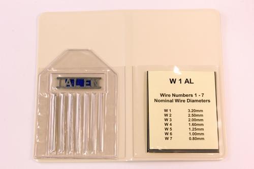 IQI 1 AL EN 50mm