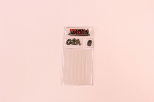 IQI AL SET A ASTM 50mm