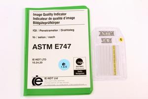 ASTM Wire Pene. 1A Steel 50mm