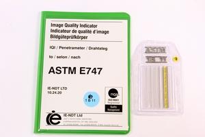 ASTM Wire Pene. 1B Steel 50mm