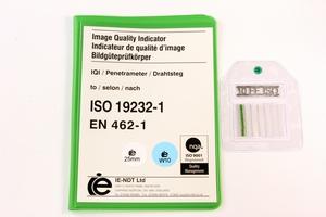 IQI ISO 19232-1 W10 FE - 25mm